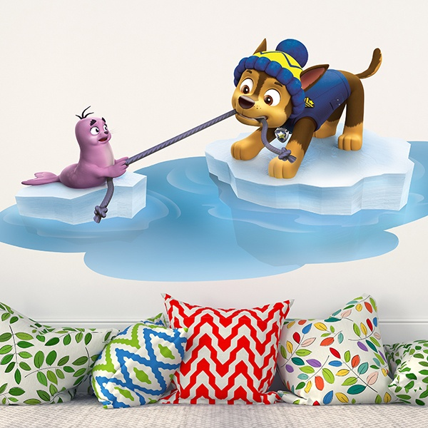 Stickers for Kids: Paw Patrol - Chase a seal rescue