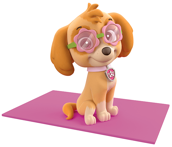 Stickers for Kids: Paw Patrol - Skye taking the Sun