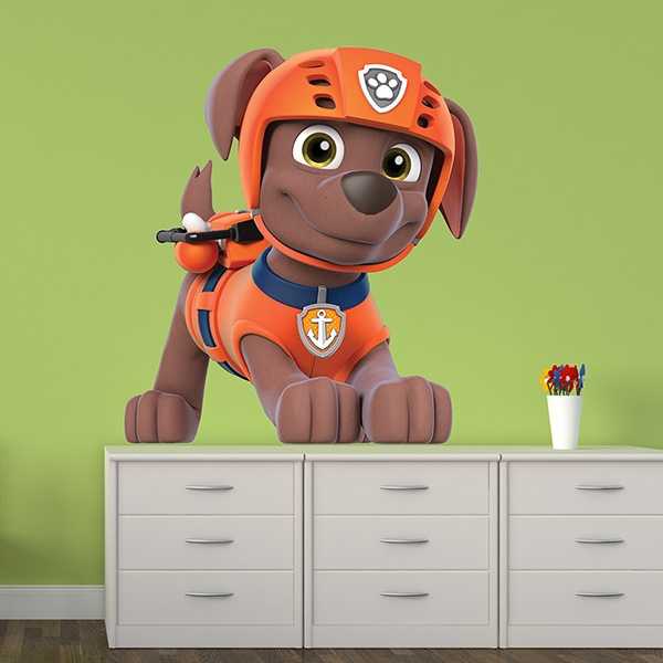 Stickers for Kids: Paw Patrol - Zuma 2
