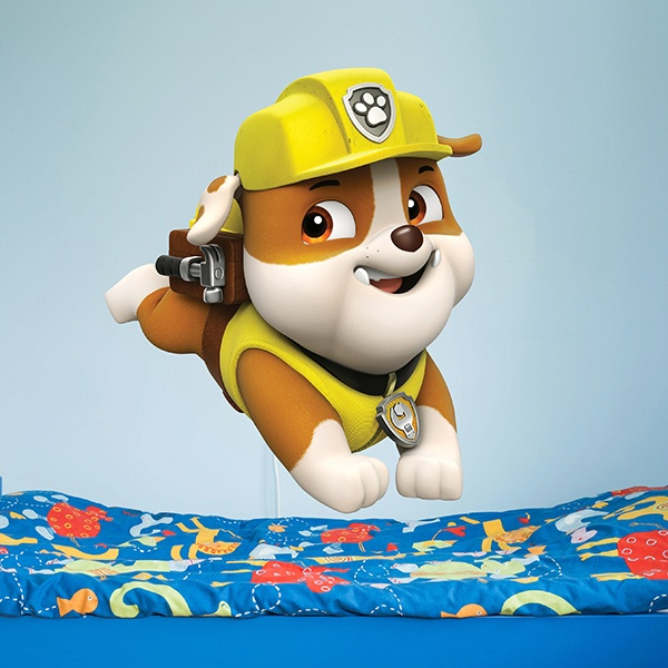 Stickers for Kids: Paw Patrol - Rubble 2