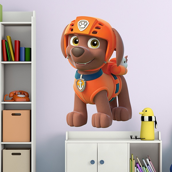 Stickers for Kids: Paw Patrol - Zuma 3