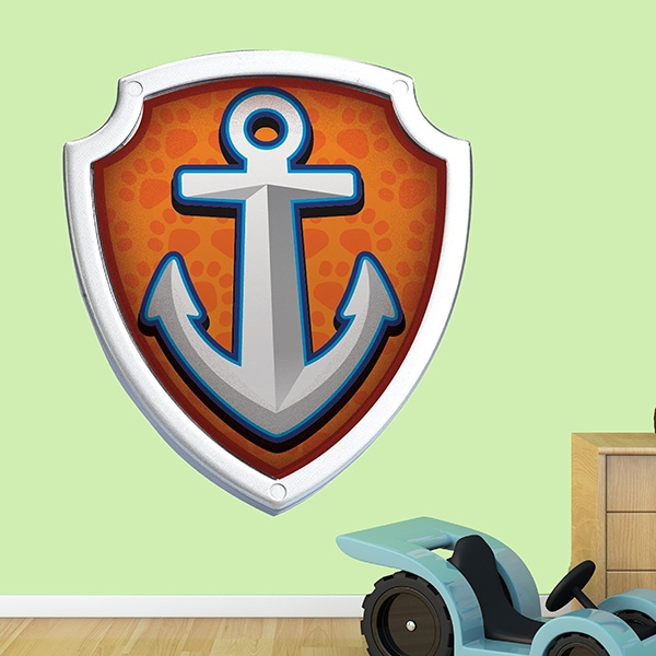 Stickers for Kids: Paw Patrol - Shield of Zuma
