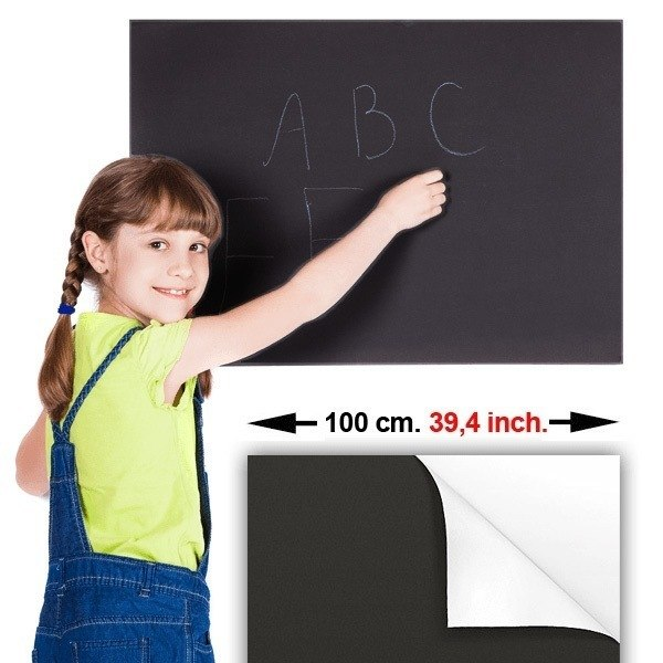 Wall Stickers: Chalkboard Sheet 100 cm.