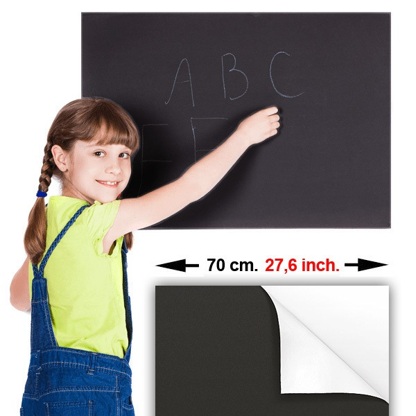 Wall Stickers: Chalkboard Adhesive Vinyl Sheets 70cm