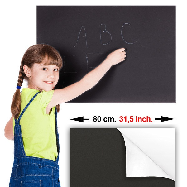Wall Stickers: Chalkboard Sheet 80 cm.