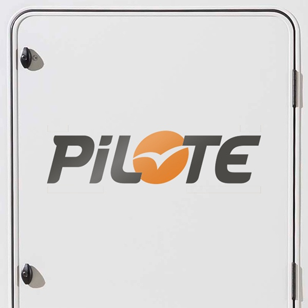 Car & Motorbike Stickers: Pilote
