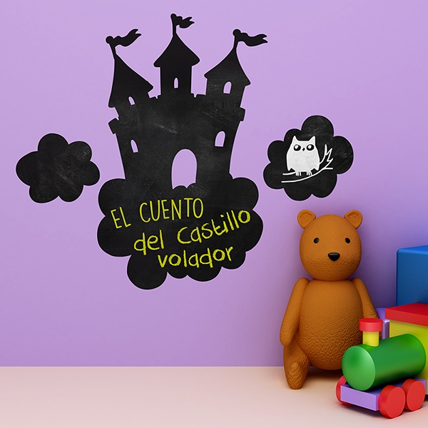 Stickers for Kids: Castle in the Clouds