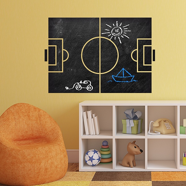 Wall Stickers: Soccer Slate