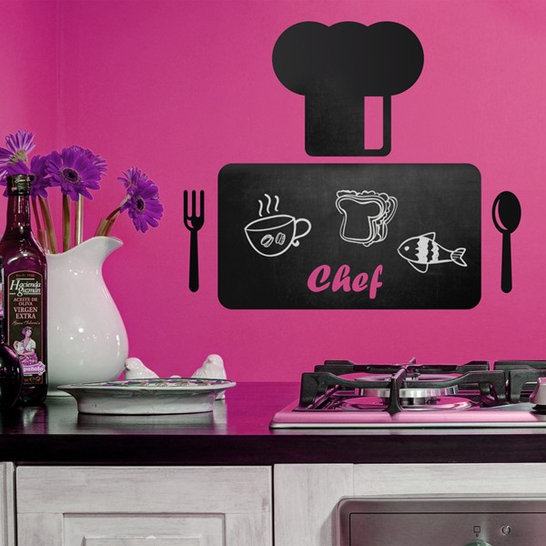 Wall Stickers: Chef's Table