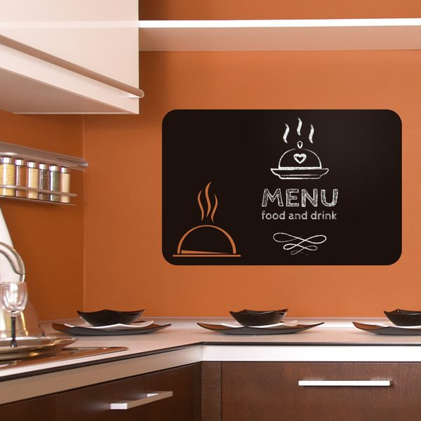 Wall Stickers: Russian Plates Chalkboard