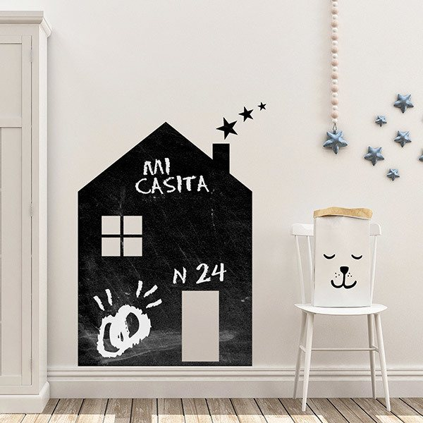 Stickers for Kids: Weekly House with stars