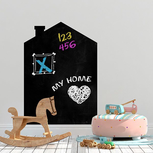 Stickers for Kids: Weekly house