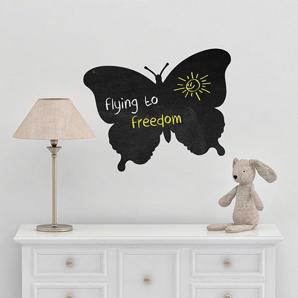 Stickers for Kids: Butterfly slate