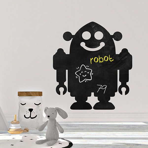 Stickers for Kids: Robot Slate