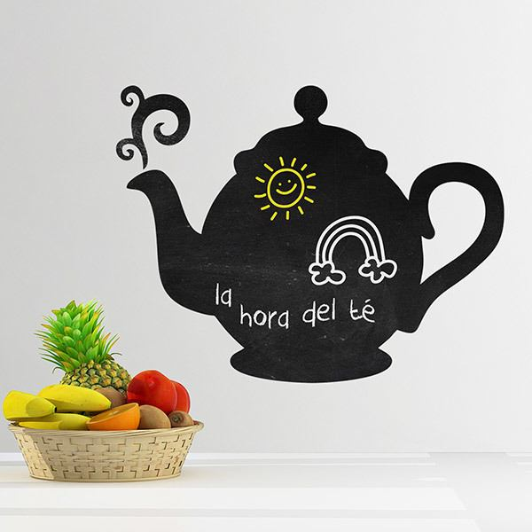 Stickers for Kids: Weekly teapot
