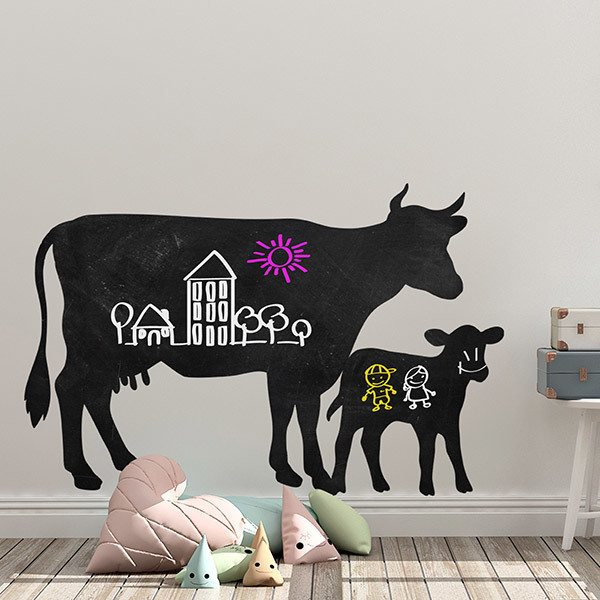 Stickers for Kids: Weekly Cows