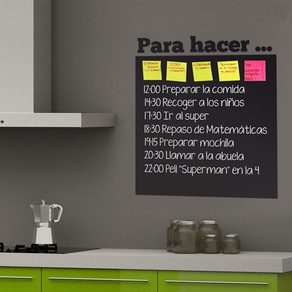 Wall Stickers: Chalkboard Para hacer