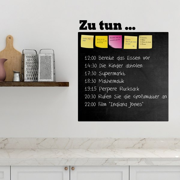 Wall Stickers: Chalkboard