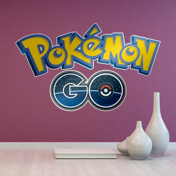 Wall Stickers: Pokémon GO logo 2016