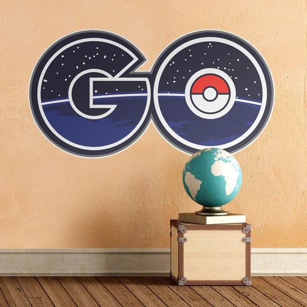 Wall Stickers: Pokémon GO Letters