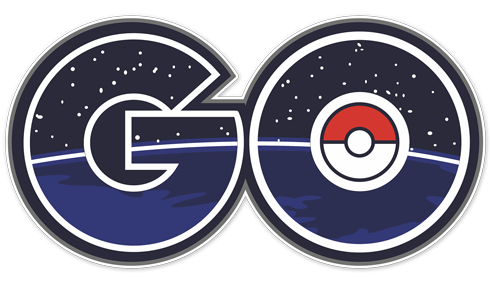 Wall Stickers: Pokémon Go logo 2