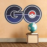 Wall Stickers: Pokémon Go logo 2 3