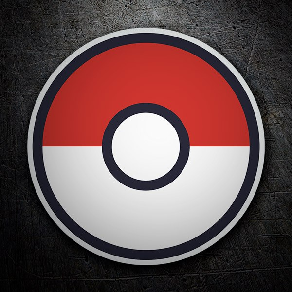 Wall Stickers: Pokeball - Pokémon Go
