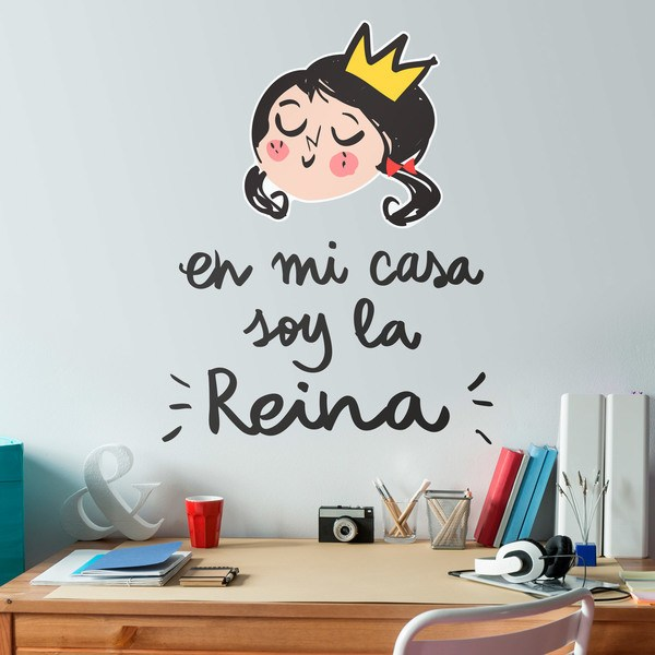 Stickers for Kids: En mi casa soy la Reina