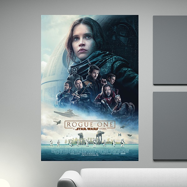 Wall Stickers: Adhesive poster Star Wars Rogue One
