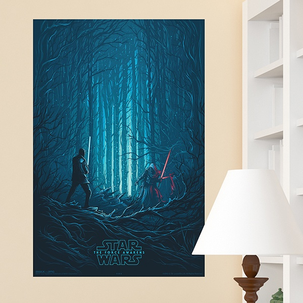 Wall Stickers: Poster Adhesive Star Wars Episode VII