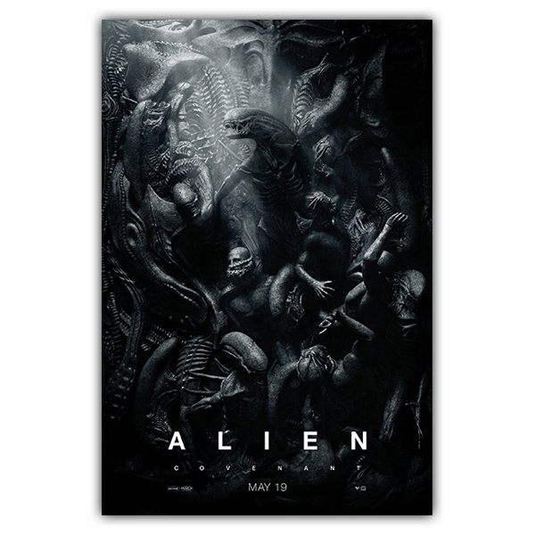 Wall Stickers: Adhesive poster Alien Covenant