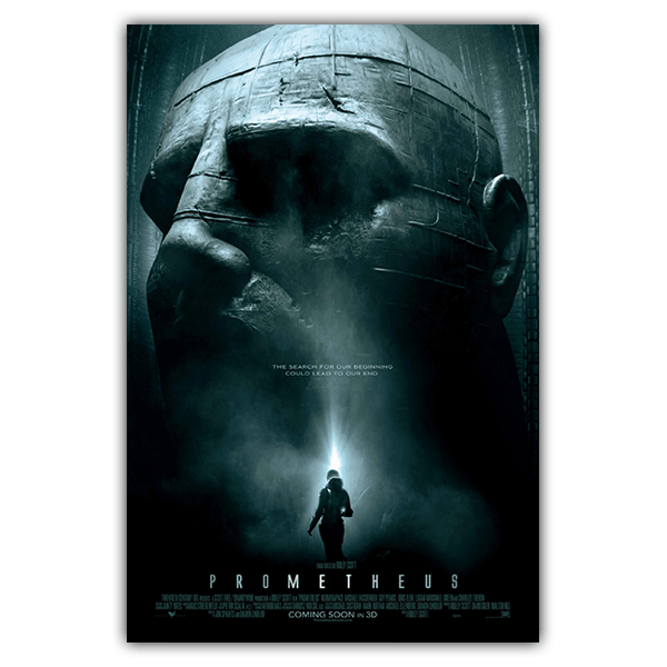 Wall Stickers: Adhesive poster Alien Prometheus