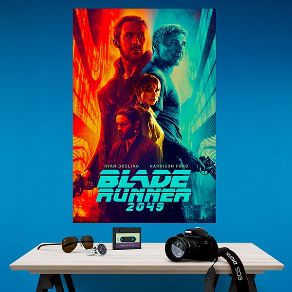 Wall Stickers: Adhesive poster Blade Runner 2049