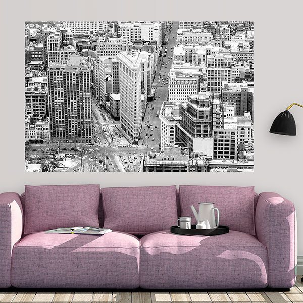 Wall Stickers: Adhesive poster Fifth Avenue