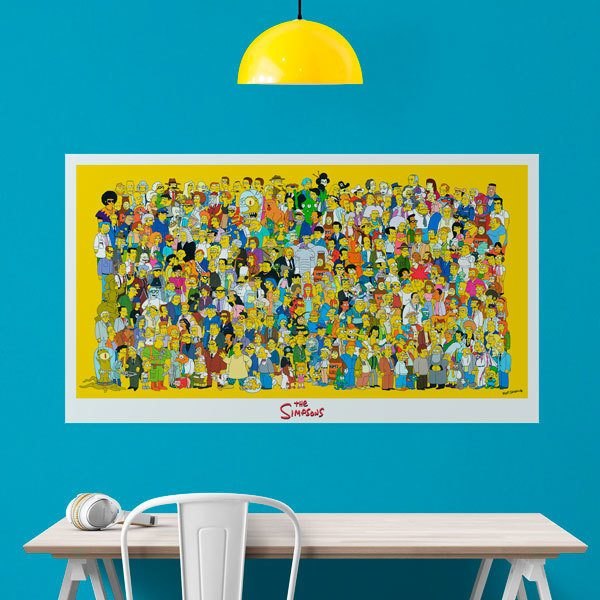 Wall Stickers: Simpson Characters