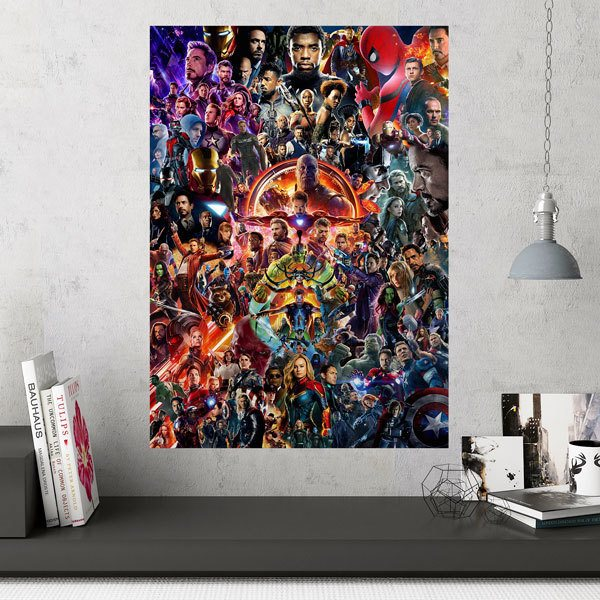 Wall Stickers: Superheroes Collage
