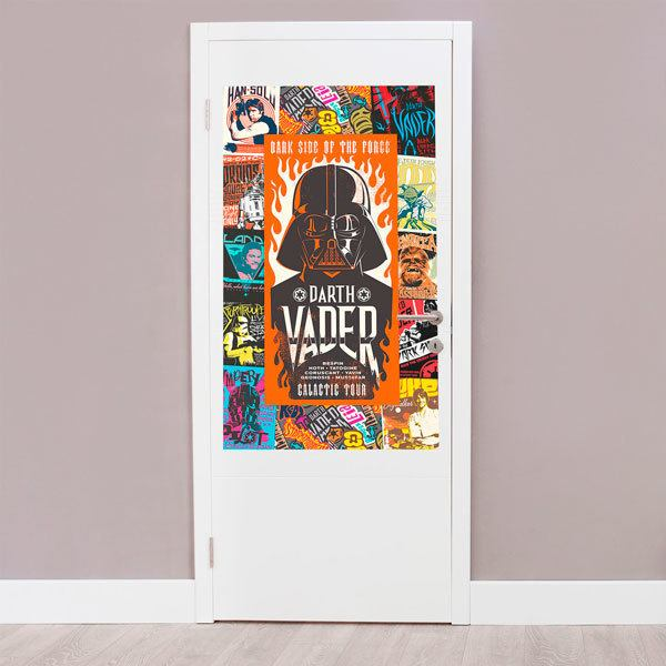 Wall Stickers: Star Wars Character Collage