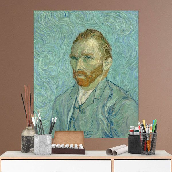 Wall Stickers: Portrait of Van Gogh