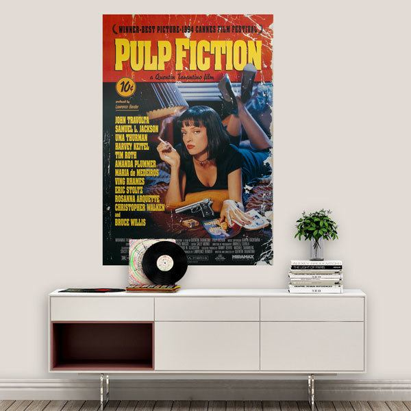 Wall Stickers: Pulp Fiction
