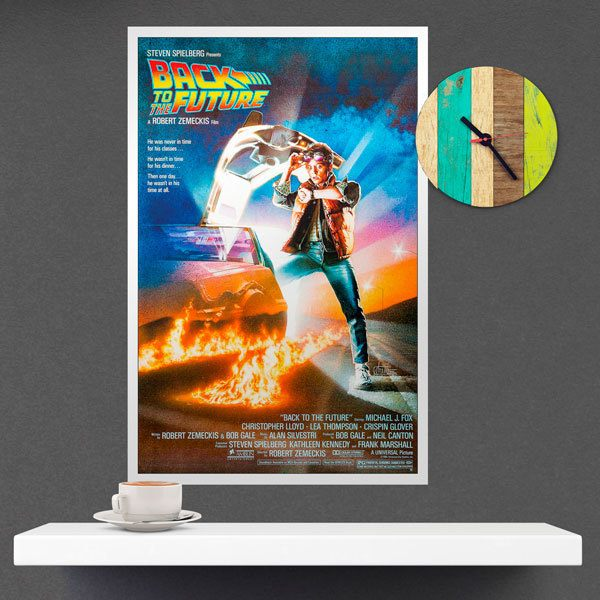 Wall Stickers: Back to the future