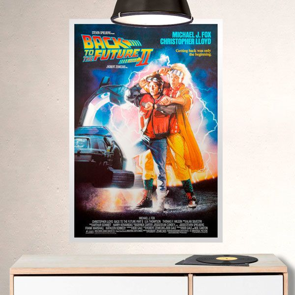Wall Stickers: Back to the future II