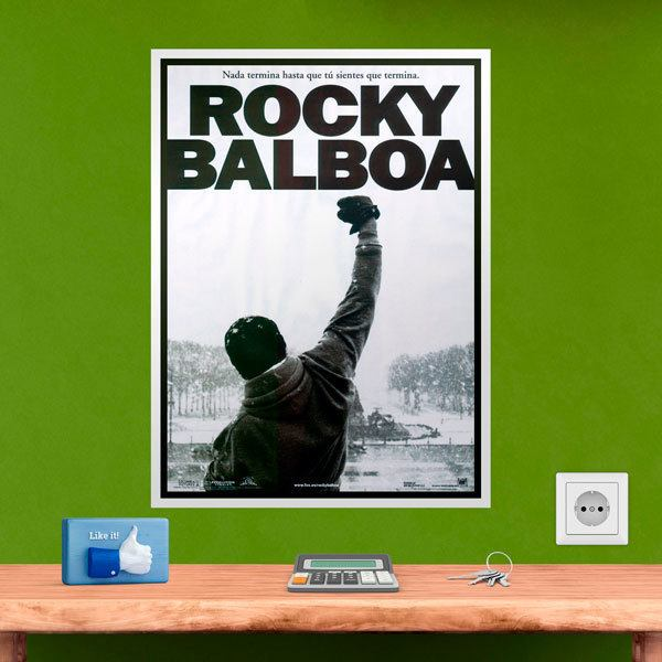 Wall Stickers: Rocky Balboa motivation