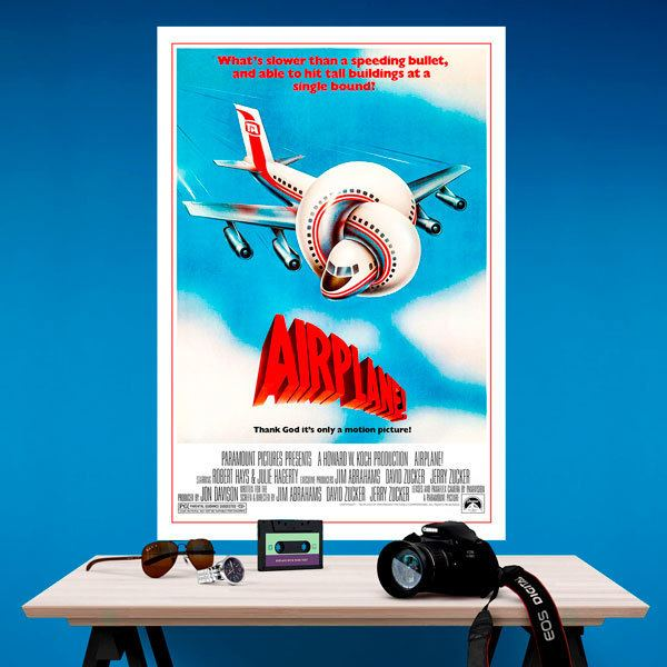 Wall Stickers: Airplane!