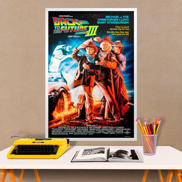 Wall Stickers: Back to the future III