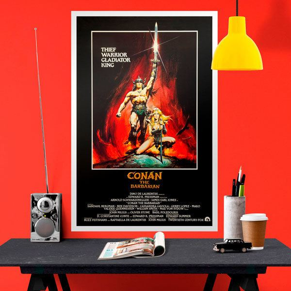 Wall Stickers: Conan the Barbarian
