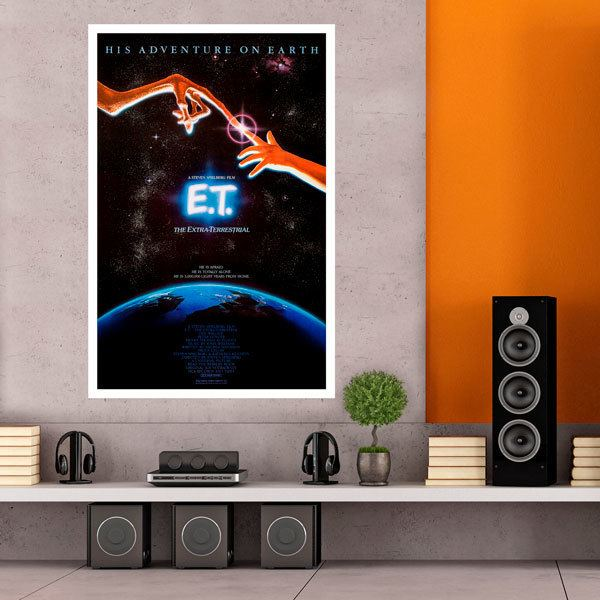 Wall Stickers: ET and Elliot