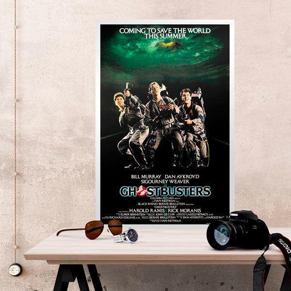 Wall Stickers: The Ghostbusters