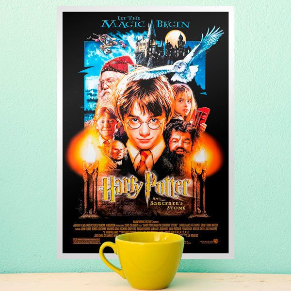 Wall Stickers: Harry Potter and the sorcerers stone