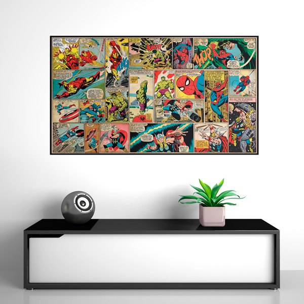 Wall Stickers: Avengers Comic