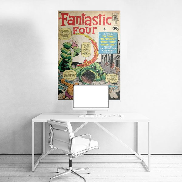 Wall Stickers: The Fantastic 4